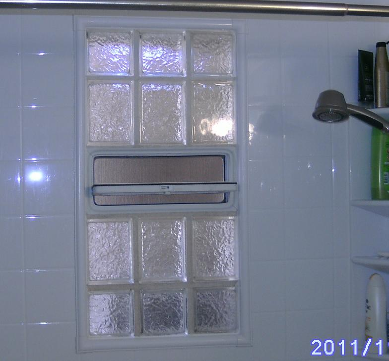 Applications Glass block window sizes